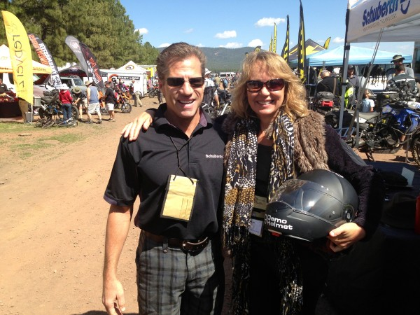 Carla King and Randy Northrup of Schuberth