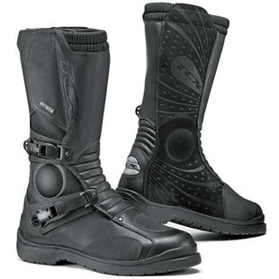 TCX Infinity GTX Touring dual-sport adventure motorcycle boots